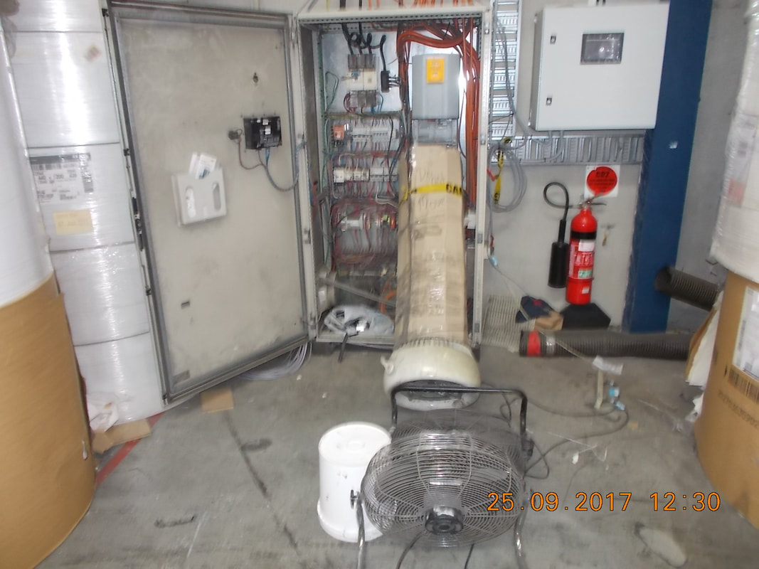 fan is being used  to cool a variable speed drive (VSD)